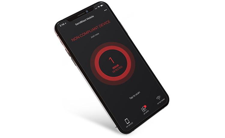 SandBlast Mobile nyní chrání i před stahováním škodlivých aplikací a krádeží přihlašovacích údajů